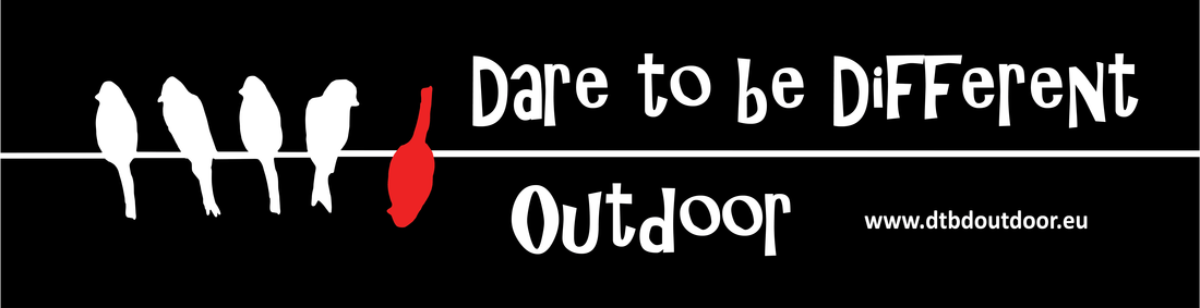 Dare to be different Outdoor Logo